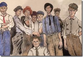 Christman Bakery employees 1920